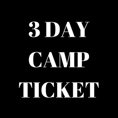 3 Day Camp Ticket